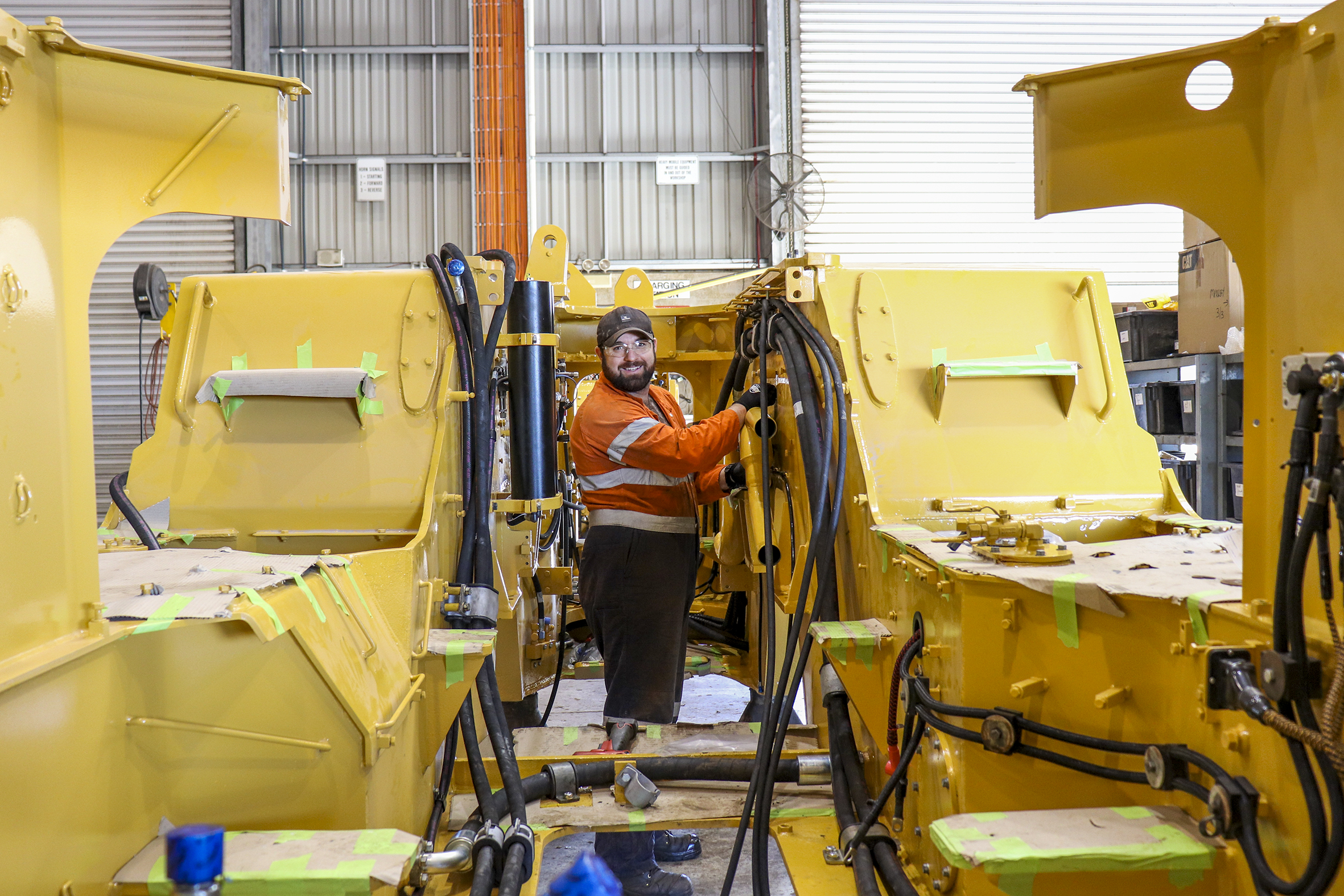 Mechanical Workshop Kalgoorlie. Machine Rebuilds.
