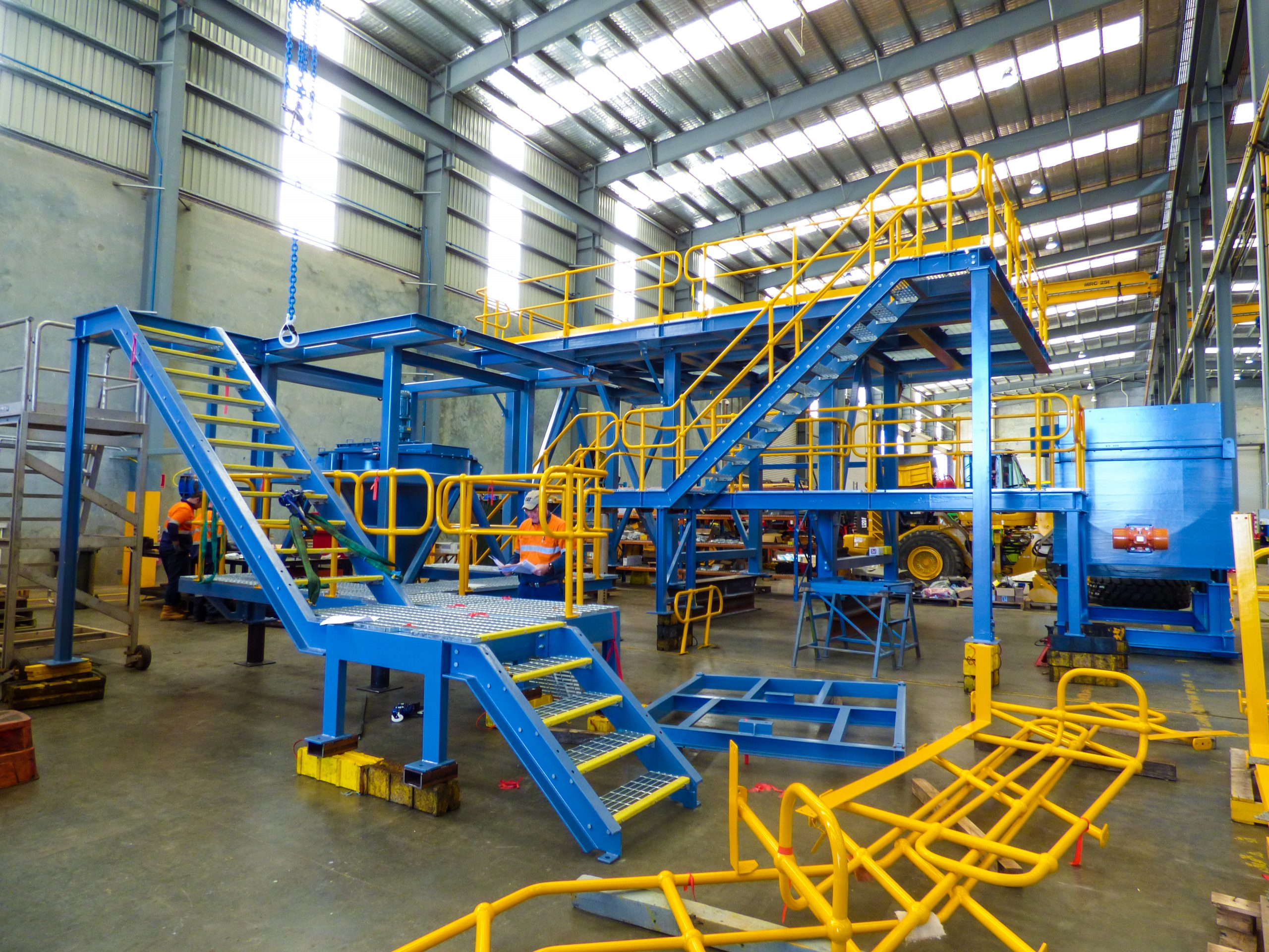 Paste Fill Plant Fabrication- Custom Fabrication for any project