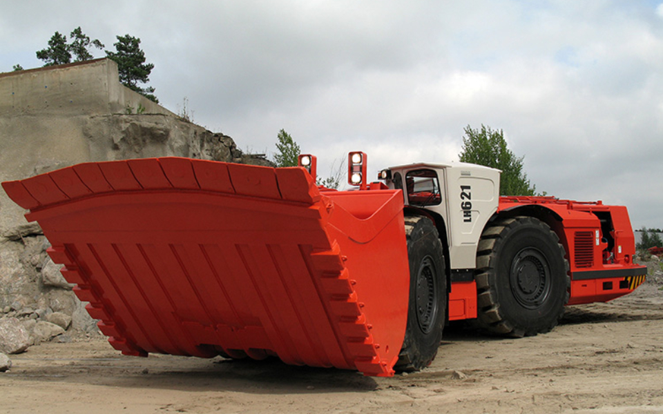 Sandvik LH621 available to hire or buy through Murray Engineering, for underground or open pit mining.
