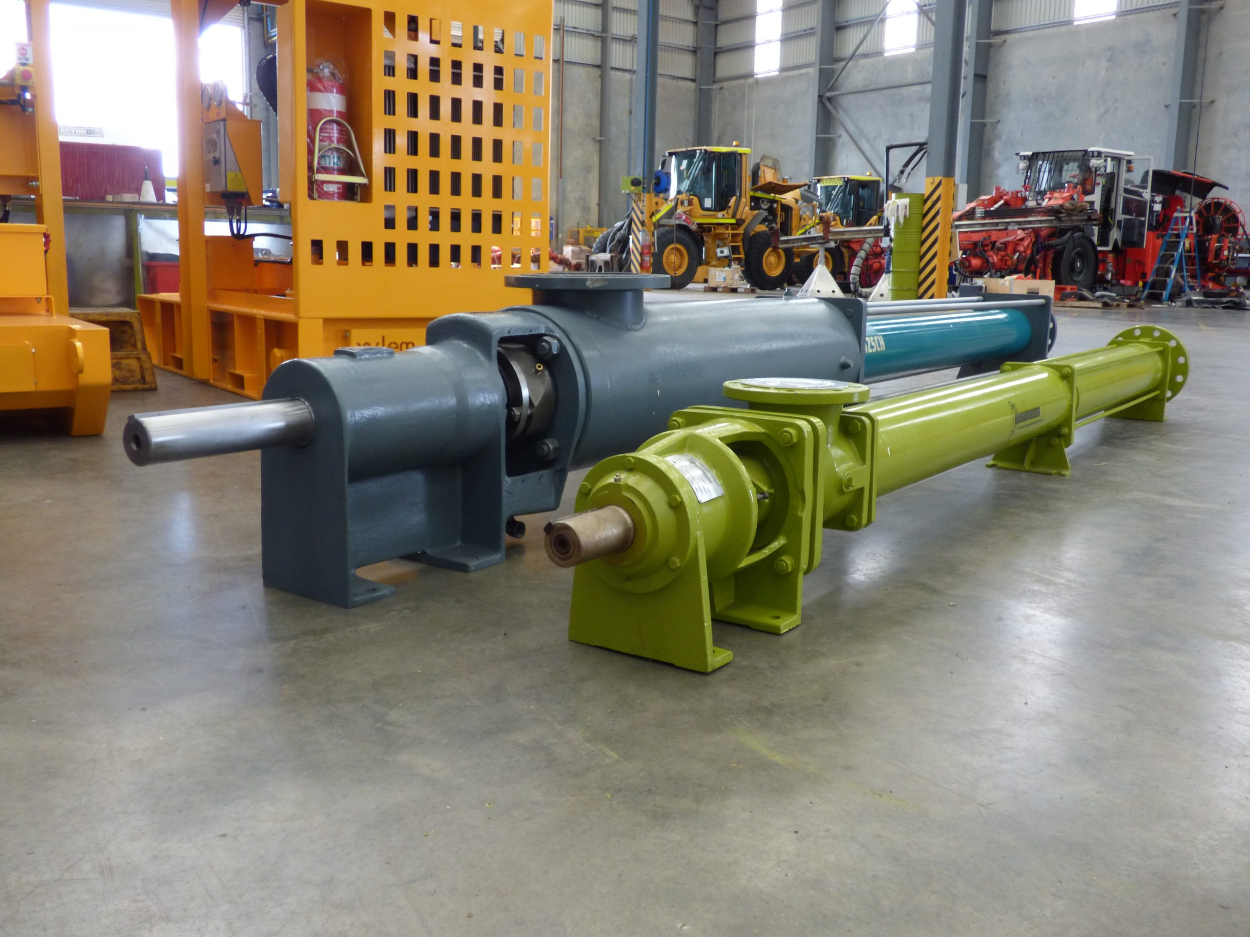 Helical Rotor Pumps for Underground or Open Pit Mining