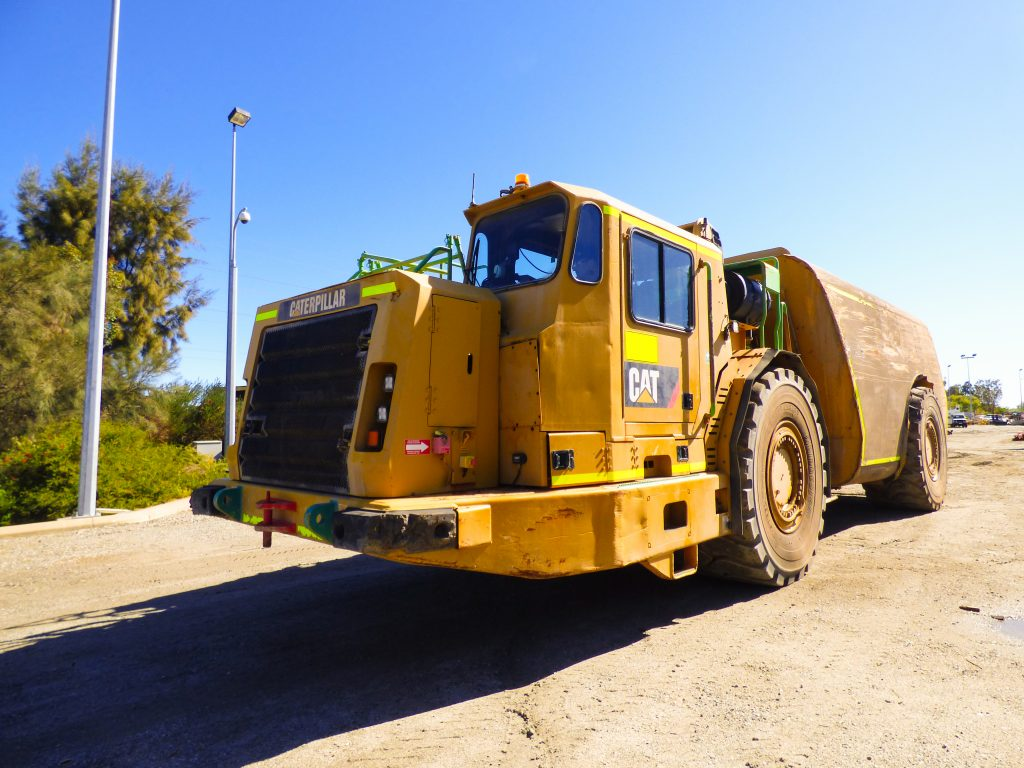 Water Truck for hire in underground or open cut mining, available for hire or to purchase through Murray Engineering.