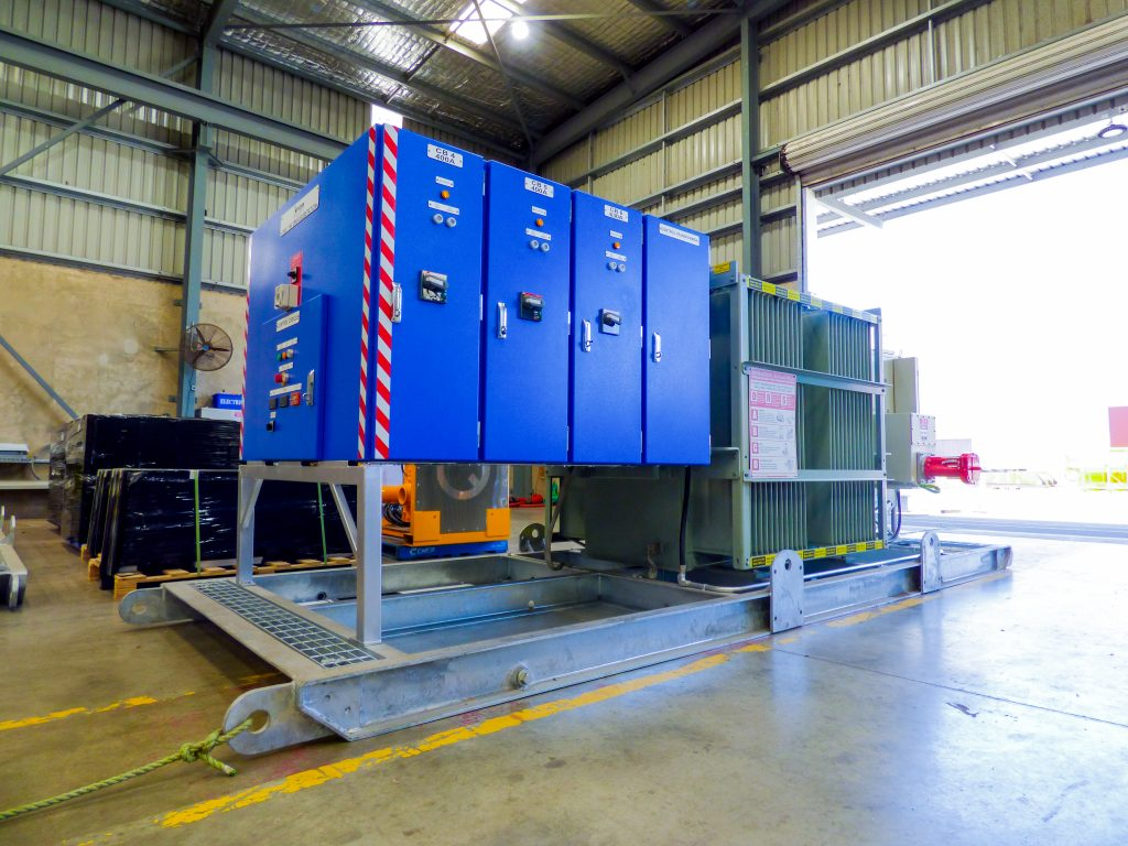 Substation for Hire through Murray Engineering