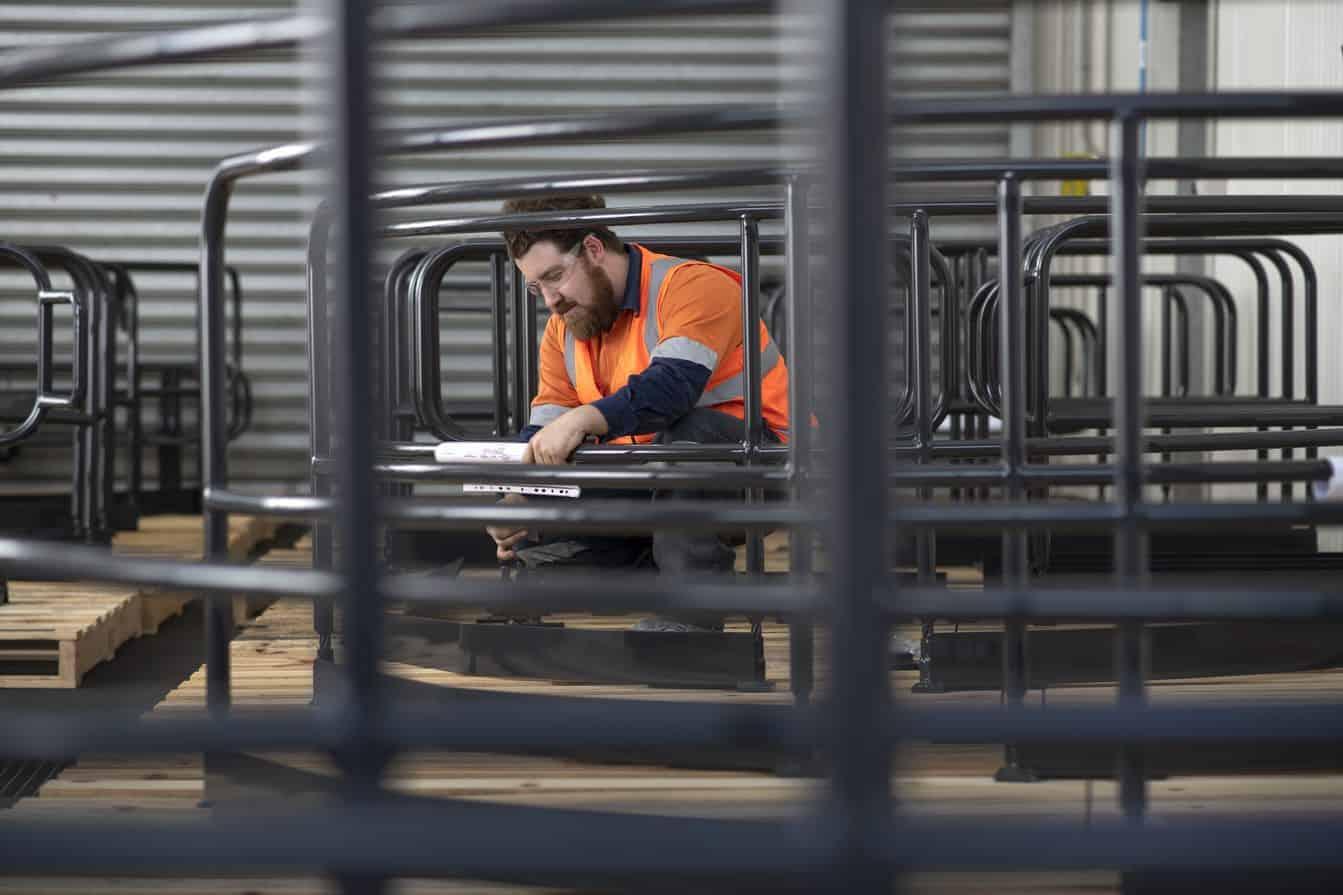 Handrail Fabrication at SRO Newcastle