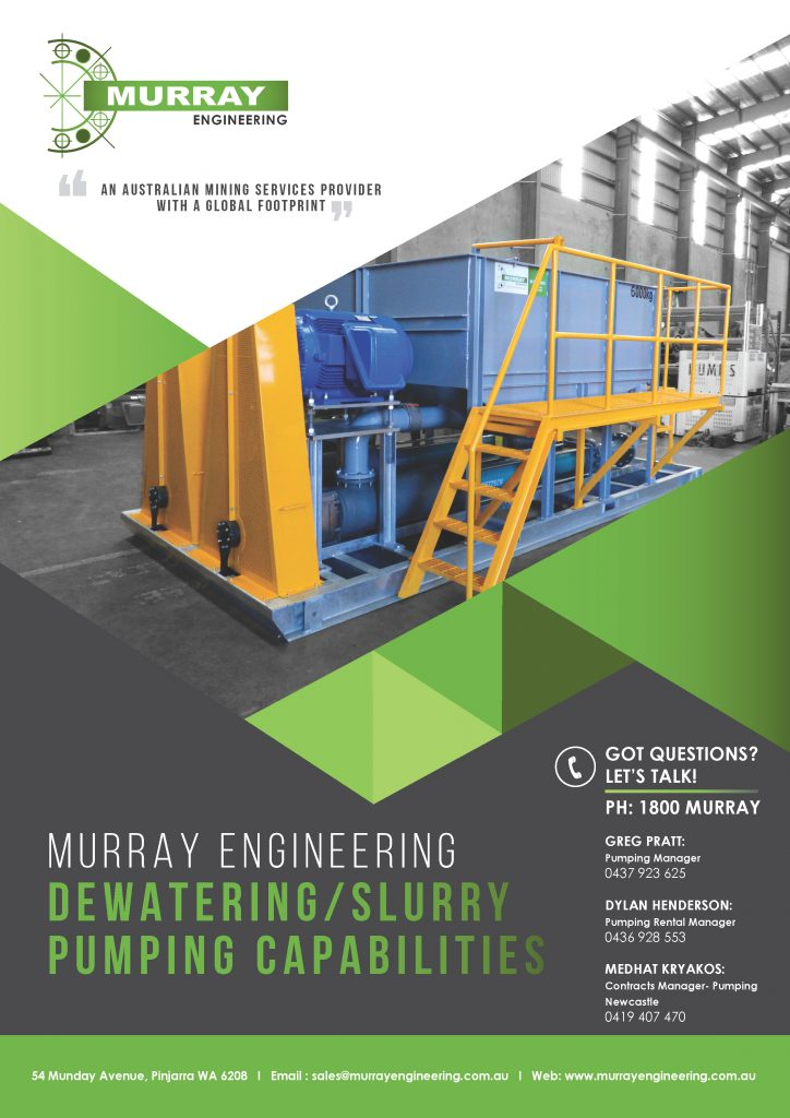 Murray Engineering Dewatering & Slurry Pumping