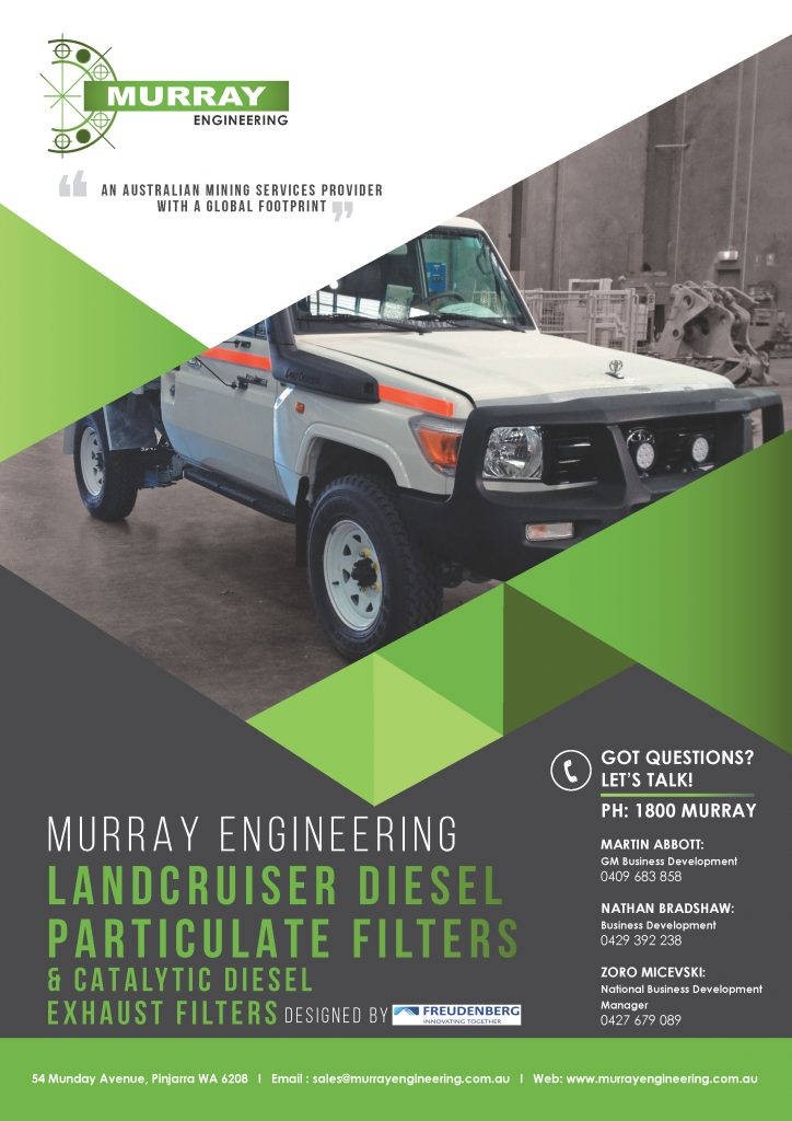 Murray Engineering Landcruiser Diesel Particulate Filter Technology