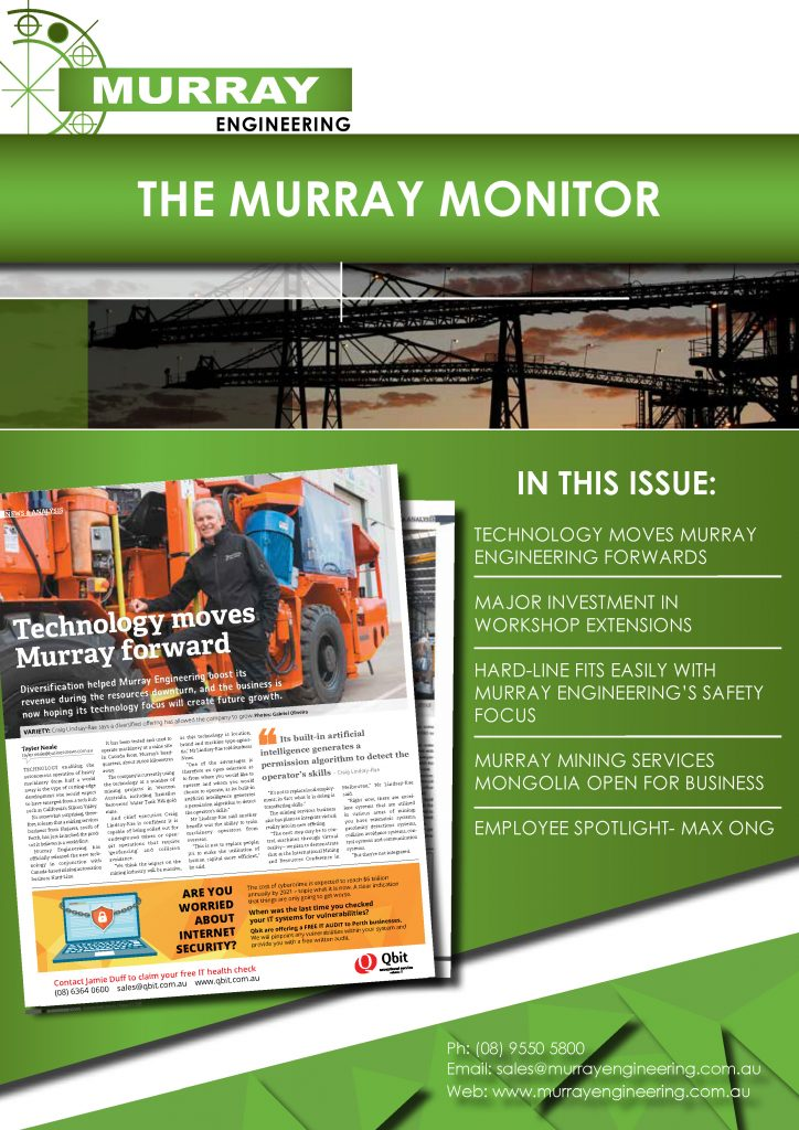 Technology Moves Murray Engineering Forwards