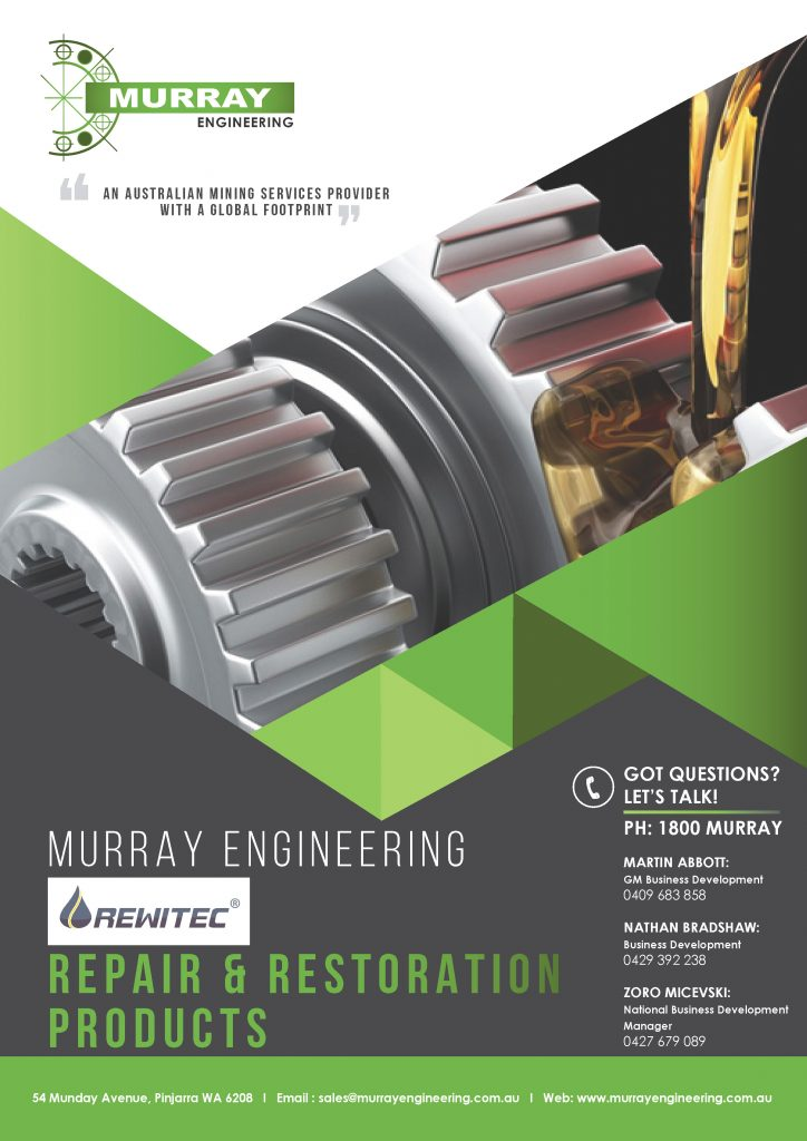 Murray Engineering REWITEC Repair and Restoration Products for Tribological Systems