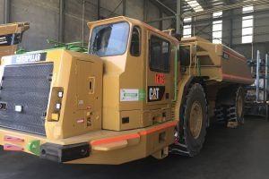 CAT AD55B Ejector Truck
