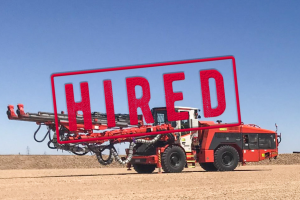 DD421-60C Jumbo Drill For Hire or Sale- ON HIRE