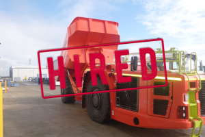 Sandvik TH663 Dump Truck For Hire or Sale- HIRED