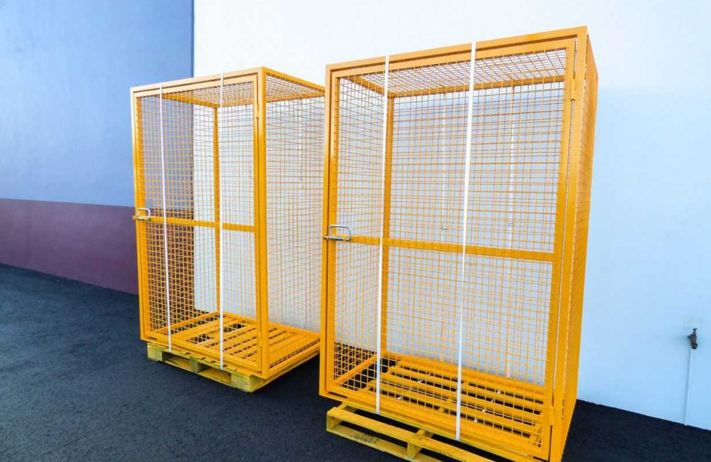 Bin Cages Fabricated by Murray Engineering