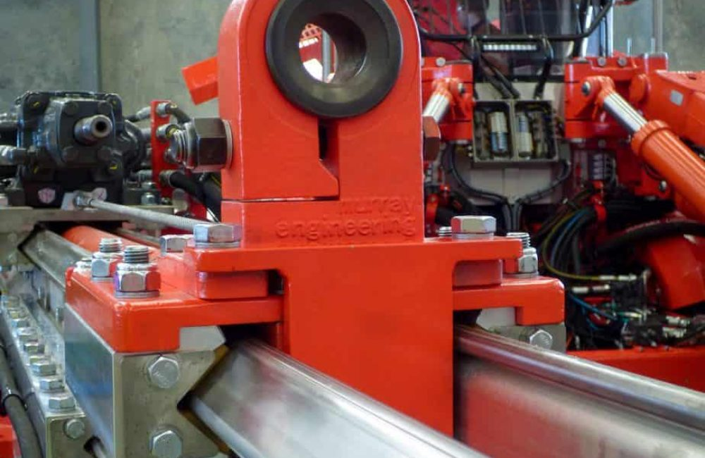 Sandvik Replacement Centralizer Fabricated by Murray Engineering