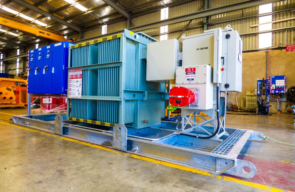 Substation for Hire- Electrical Services from Murray Engineering