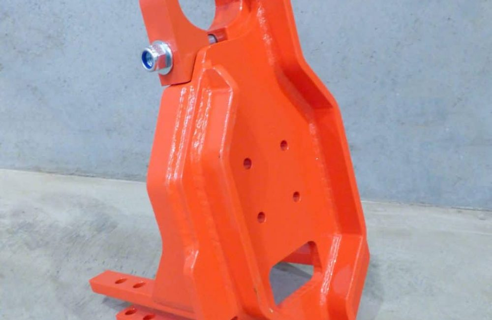 Sandvik Replacement Front Centralizer fabricated by Murray Engineering