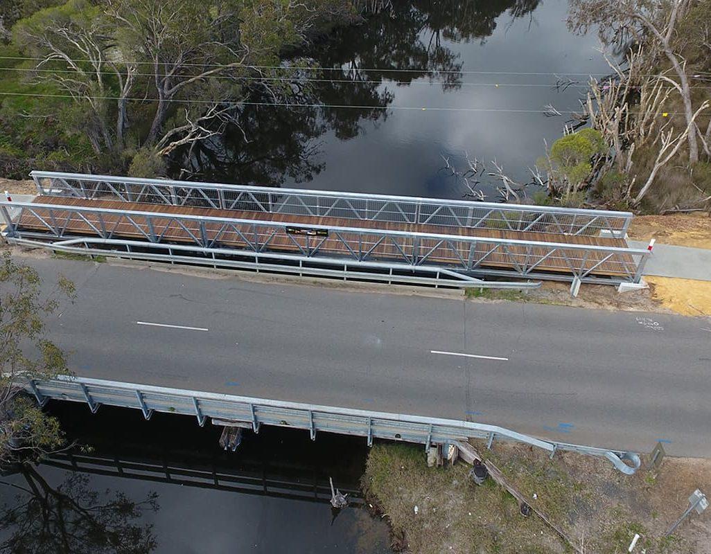 Pedestrian Bridge Structural Steel