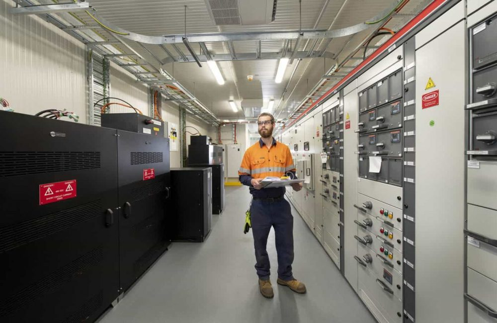 Switchroom- Electrical Services for the Mining Industry